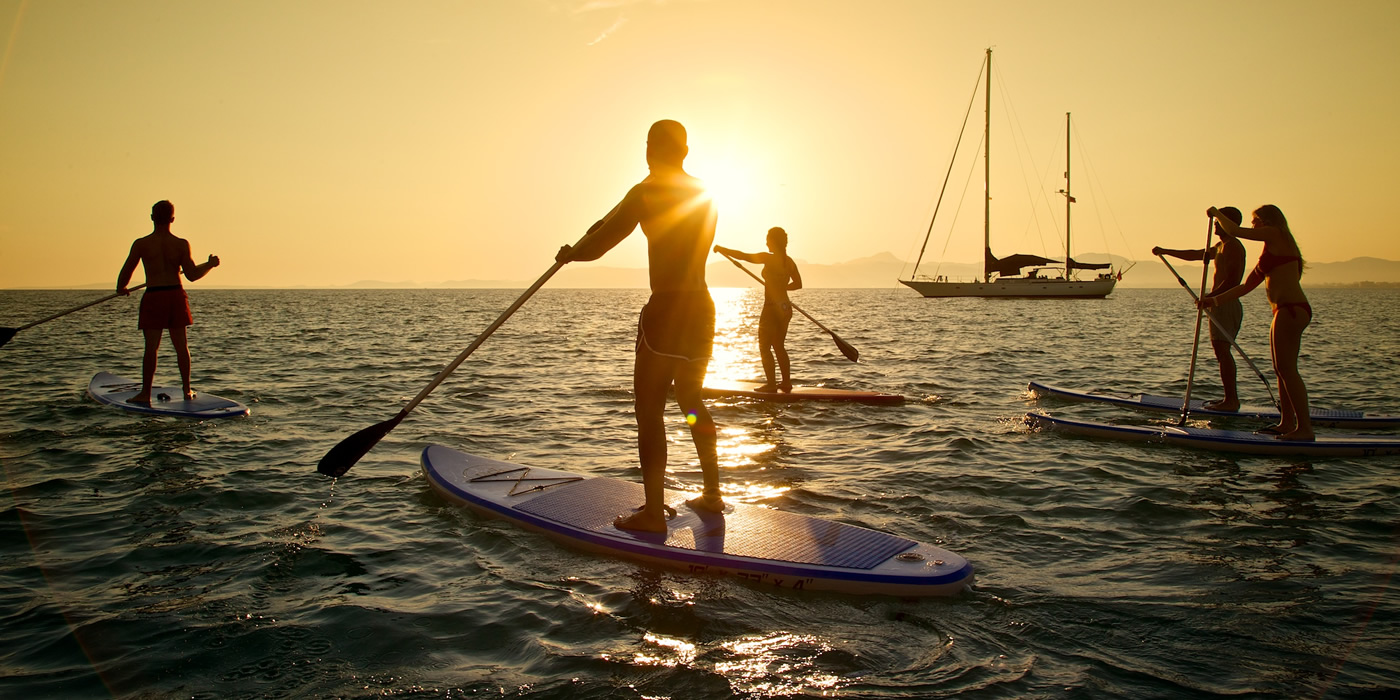 SUP, Stand Up Paddle, paddle surf en Mallorca